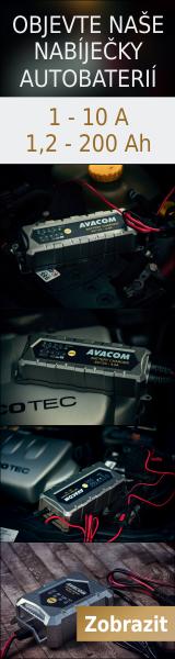 Nabíječky autobaterií AVACOM