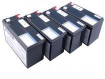 AVACOM bateriov� kit pro renovaci RBC24 (4ks bateri�)