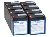 AVACOM bateriov� kit pro renovaci RBC43 (8ks bateri�)
