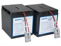 AVACOM náhrada za RBC55 - baterie pro UPS (4ks baterií typu HR)