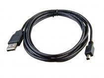 USB 2.0.kabel - 4pin Mitsumi, 1,8m, černý