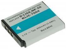 Fujifilm NP-50, Kodak KLIC-7004, Pentax D-LI68 Li-Ion 3.7V 800mAh 3Wh