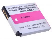 Panasonic DMW-BCK7 Li-ion 3.6V 800mAh 2.9Wh