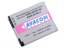 Panasonic DMW-BCM13, BCM13E Li-ion 3.6V 1320mAh 4.8Wh