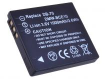 Panasonic CGA-S008E, DMW-BCE10, VW-VBJ10, Leica BP-DC6 Li-ion 3.6V 800mAh 3.7Wh