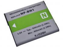 Sony NP-BN1 Li-ion 3.6V 630mAh 2.3Wh