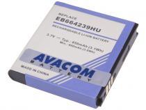 Baterie do mobilu Samsung GT-S8000 Jet Li-Ion 3,7V 850mAh (náhrada EB664239HU)