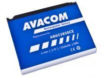 Baterie do mobilu Samsung SGH-i900 Li-Ion 3,7V 1350mAh (náhrada AB653850CE)