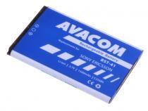 Baterie do mobilu Sony Ericsson X10, X1, X2 Li-Ion 3,6V 1500mAh (náhrada BST-41)