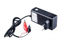 Nabíječka WILSTAR 6V / 1,2A pro olověné AGM/GEL akumulátory (4-16Ah)