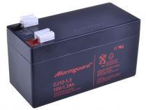 Alarmguard 12V 1,3Ah olověný akumulátor F1 (CJ12-1.3)