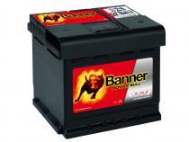 Autobaterie Banner 12V 50Ah (P5003) - Power Bull (startovací proud 450A) (doprava Toptrans/osobní odběr)
