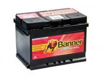Autobaterie Banner 12V 55Ah (55519) - Starting Bull (startovací proud 450A) (doprava Toptrans/osobní odběr)