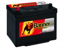 Autobaterie Banner 12V 70Ah (P7024) - Power Bull (startovací proud 570A) (doprava Toptrans/osobní odběr)