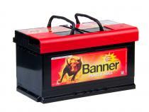 Autobaterie Banner 12V 80Ah (P8014) - Power Bull (startovací proud 700A) (doprava Toptrans/osobní odběr)