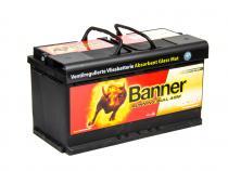 Autobaterie Banner 12V 92Ah (59201) - Running Bull AGM (startovací proud 850A) (doprava Toptrans/osobní odběr)