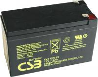 CSB 12V 7,2Ah olověný akumulátor DeepCycle AGM F2 (EVX1272F2)