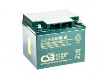 CSB 12V 40Ah olověný akumulátor Deep Cycle M6 (EVX12400I)