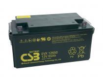 CSB 12V 65Ah olověný akumulátor Deep Cycle M6 (EVX12650)