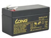 Long 12V 1,2Ah olověný akumulátor F1 (WP1.2-12)