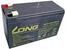 Long 12V 7Ah olověný akumulátor F1