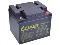 Long 12V 50Ah olověný akumulátor DeepCycle F8