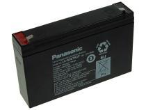 Panasonic  6V 7,2Ah olověný akumulátor F1 LC-R067R2P