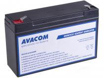 Náhradní baterie (olověný akumulátor) 6V 12Ah do vozítka Peg Pérego F1