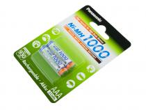 Nabíjecí baterie AAA Panasonic 1000mAh Ni-MH 2ks Blistr