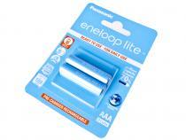 Nabíjecí baterie AAA Panasonic Eneloop Lite 550mAh Ni-MH 2ks Blistr - 3000 nabíjecích cyklů