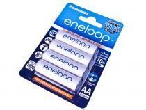 Nabíjecí baterie AA Panasonic Eneloop 1900mAh Ni-MH 4ks Blistr - 2100 nabíjecích cyklů