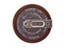 Nabíjecí knoflíková baterie VL-2020-HFN Panasonic 20mAh Li-Ion 3V 1ks Bulk - s vývody do PCB