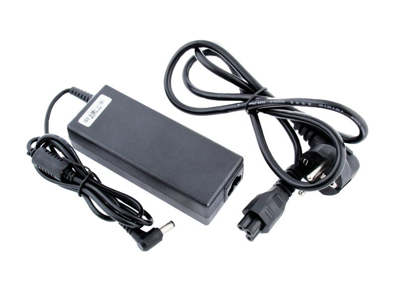 Nabíjecí adaptér pro notebook 19V 4,74A 90W zahnutý konektor 5,5mm x 2,5mm