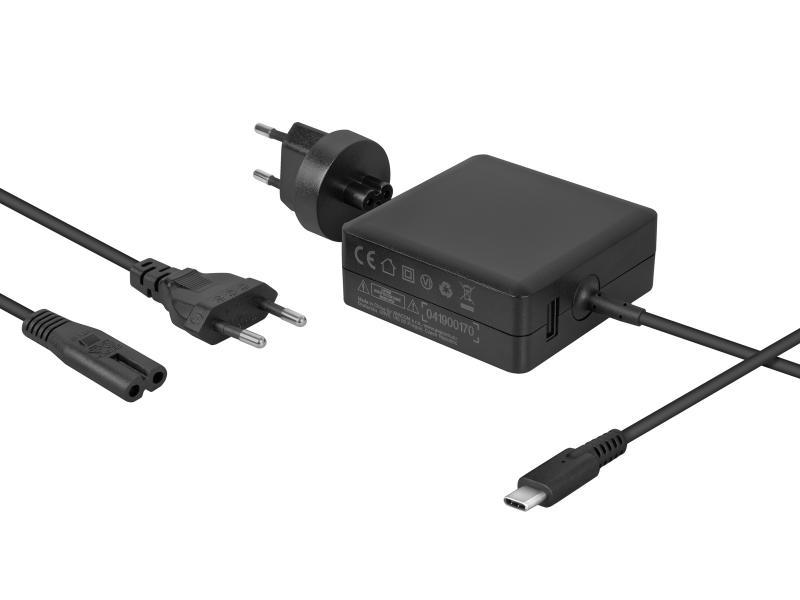 Nabíjecí adaptér pro MacBooky s USB Type-C 65W + USB A