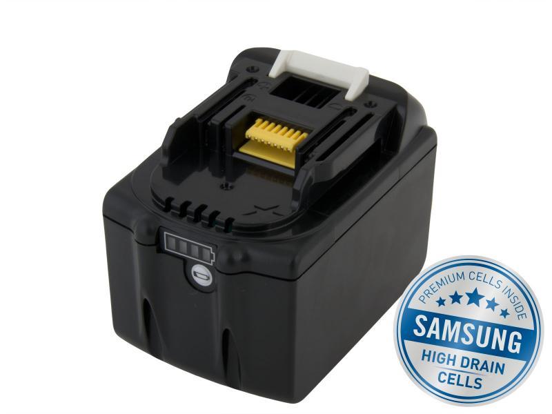 MAKITA BL 1860B Li-Ion 18V 6000mAh, články SAMSUNG s LED indikací