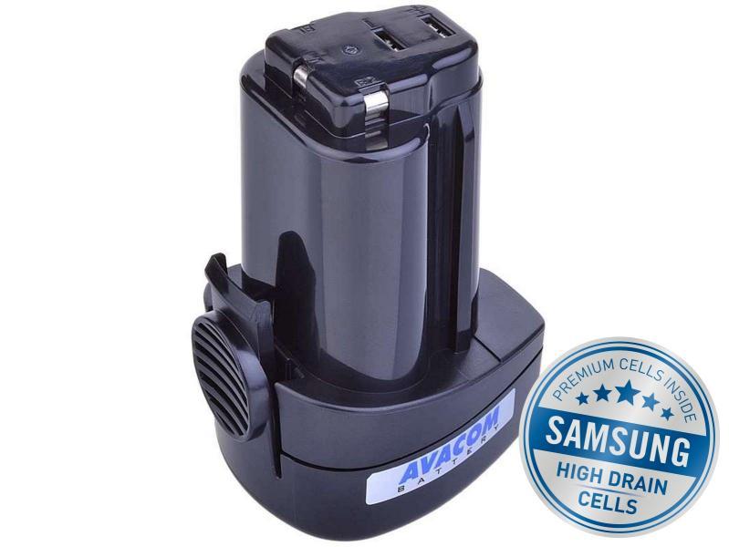 METABO PowerMaxx Li-Ion 10,8V 2000mAh, články SAMSUNG
