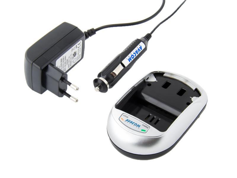 AV-MP univerzální nabíjecí souprava pro foto a video akumulátory - blistrové balení