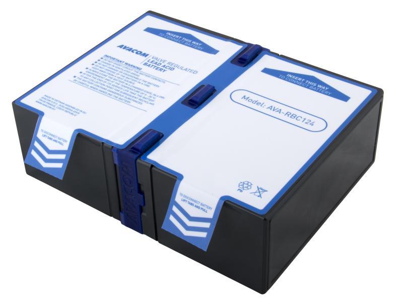 AVACOM náhrada za RBC124 - baterie pro UPS (2ks baterií typu High Rate)