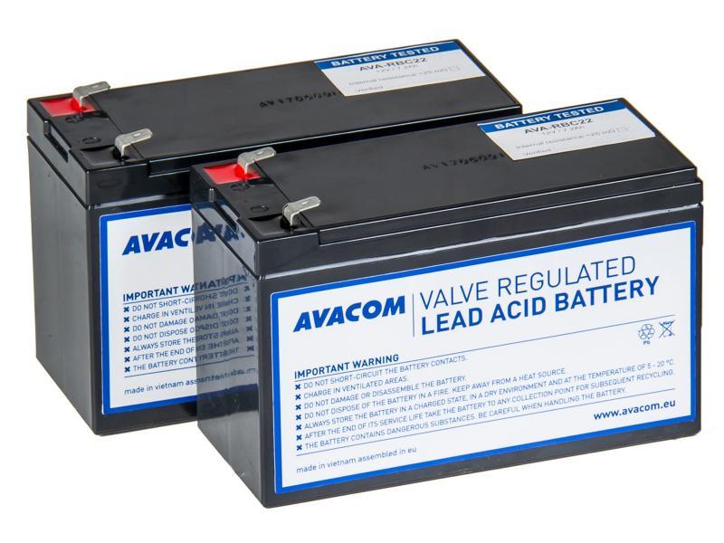 AVACOM náhrada za RBC22 - baterie pro UPS - renovace