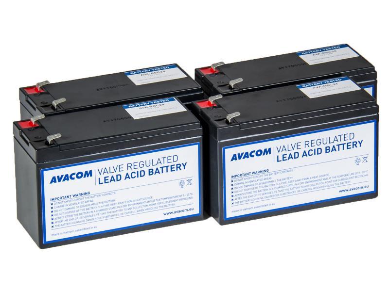AVACOM náhrada za RBC24 - baterie pro UPS - renovace (4ks baterií typu HR)