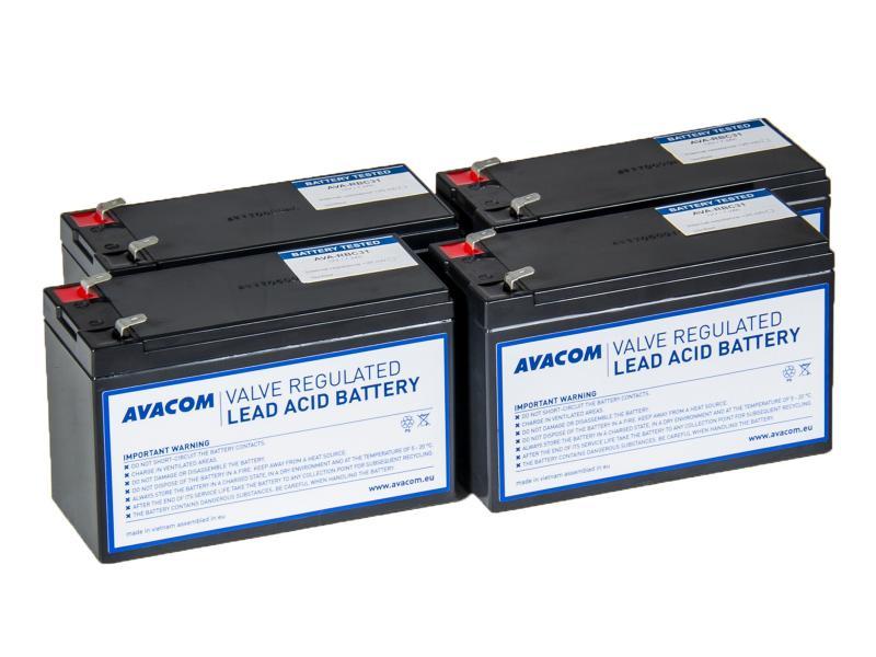 AVACOM náhrada za RBC31 - baterie pro UPS - renovace (4ks baterií)