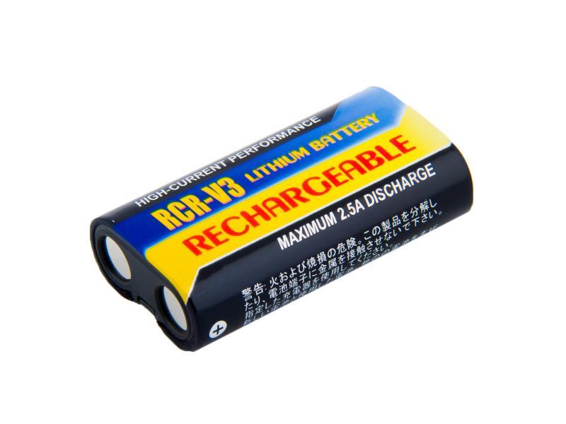 Nabíjecí fotobaterie CRV3, CR-V3, LB01, LB-01 Li-Fe 3V 1100mAh 3.3Wh
