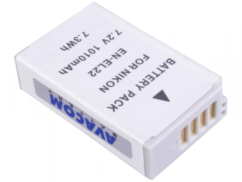 Nikon EN-EL22 Li-Ion 7.2V 800mAh 7.3Wh