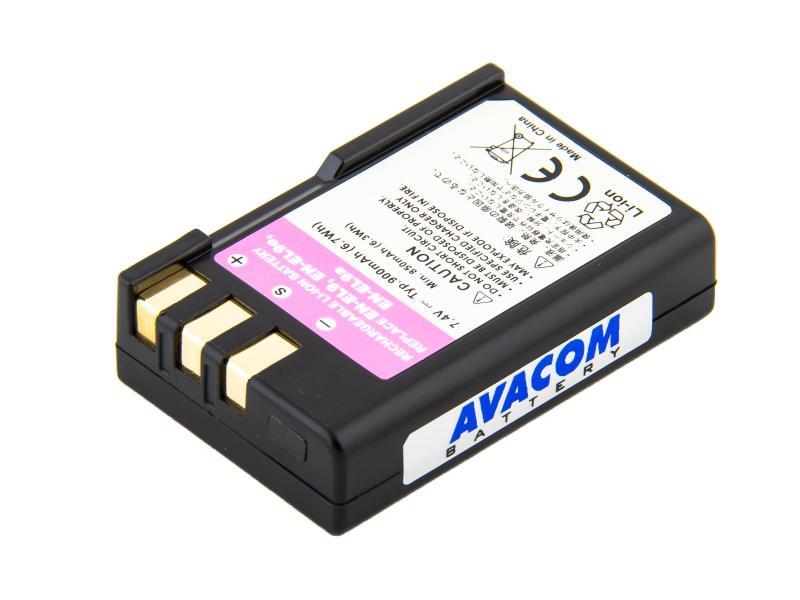 Nikon EN-EL9, EN-EL9A, EN-EL9E Li-Ion 7.4V 900mAh 6.7Wh