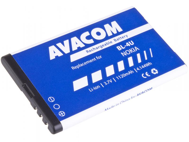 Baterie do mobilu Nokia 5530, CK300, E66, 5530, E75, 5730, Li-Ion 3,7V 1120mAh (náhrada BL-4U)