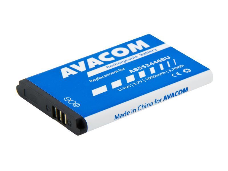 Baterie do mobilu Samsung B2710, C3300 Li-Ion 3,7V 1000mAh, (náhrada AB553446BU)