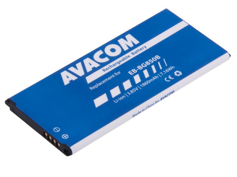 Baterie do mobilu Samsung G850 Galaxy Alpha Li-Ion 3,85V 1860mAh (náhrada EB-BG850BBE)