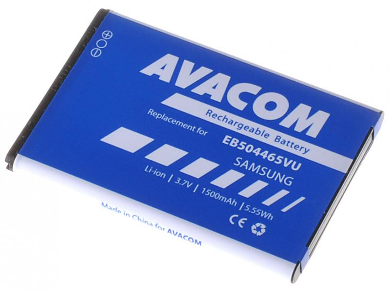 Baterie do mobilu Samsung SGH-i8910 Li-Ion 3,7V 1500mAh (náhrada EB504465VU)