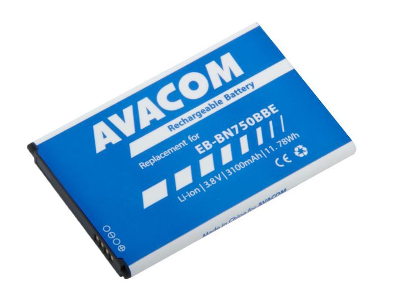 Baterie do mobilu Samsung Note 3 Neo Li-Ion 3,8V 3100mAh, (náhrada EB-BN750BBE)
