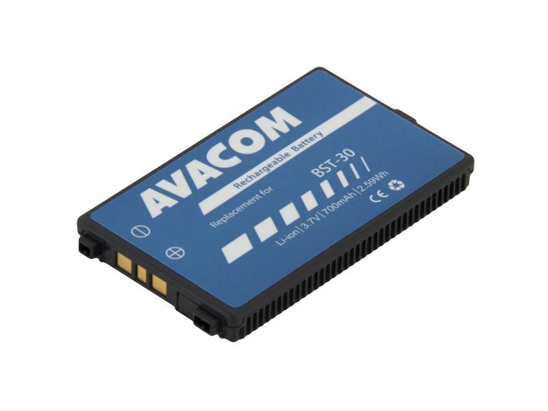 Baterie do mobilu Sony Ericsson K700  Li-Ion 3,7V 700mAh (náhrada BST-30)
